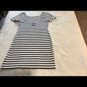 Moschino Snug Fit Knit Mini Dress